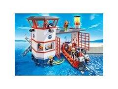 City Action 5539 - Küstenwachstation mit Leuchtturm
