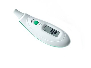 Laica TH2002 Fieberthermometer Stirn/ Ohr -