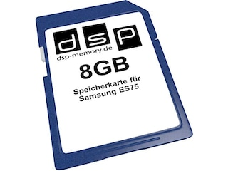 DSP Memory SD Speicherkarte 8GB (ES75) -