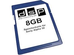 DSP Memory SD Speicherkarte 8GB (4051557403864)