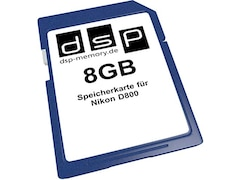 DSP Memory SD Speicherkarte 8GB (D800)