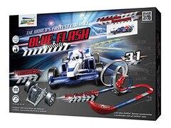 Darda Autorennbahn mit Auto, »Blue Flash«