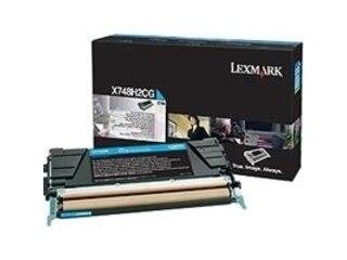 Lexmark Tonerpatrone Cyan (X748H2CG) -