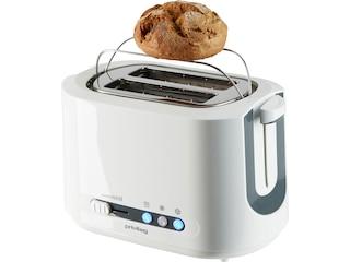 Privileg 2-Scheiben-Toaster, weiß (4029686371606) -
