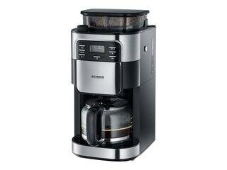 Severin KA 4810 Kaffeeautomat Edelstahl/schwarz -