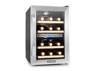 Klarstein Reserva Weinkühlschrank 2-Zonen 34 Liter 12 Flaschen -