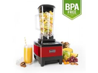 Klarstein Herakles 4G Blender Standmixer BPA frei 1500 Watt rot -