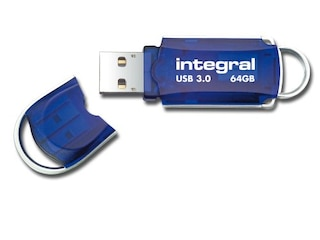 Integral 64GB 3.0 Courier USB Stick -