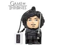 Tribe FD032505 Games of Thrones Figur 16 GB Lustig USB Flash Drive 2.0 mit Schlüsselanhänger Kappenhalter Jon Snow