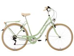 KS Cycling Cityrad, 28 Zoll, grün, 6 Gang-SHIMANO-Kettenschaltung, Casino