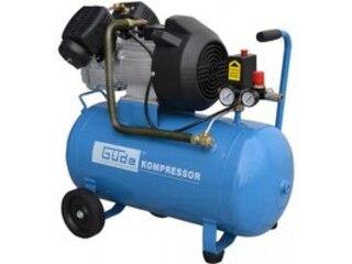 Güde Kompressor 401/10/50, 230 V, 50 l, 10 bar, 2 Zylinder -