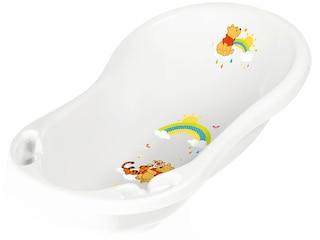 OKT Kids Badewanne Winnie Puuh mit Stöpsel weiß -