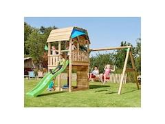 Jungle Gym Spielturm Jungle Barn, Gesamtmaße (B/T/H): 450/490/320 cm