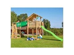 Jungle Gym Spielturm Jungle Shelter Bridge, Gesamtmaße (B/T/H): 415/365/290 cm