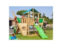 Jungle Gym Spielturm Jungle Hut Boat, Gesamtmaße (B/T/H): 220/320/290 cm