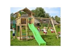 Jungle Gym Spielturm Jungle Chalet, Gesamtmaße (B/T/H): 295/365/310 cm