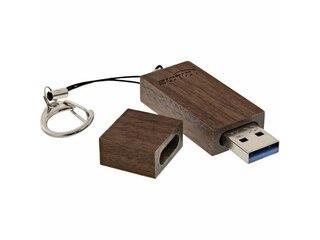 InLine Woodline Walnuss 8GB (35061W) -