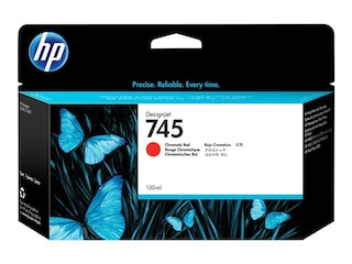 HP Inc 745 - Chromatic Red - Original - DesignJet - Tintenpatrone (F9K00A) -