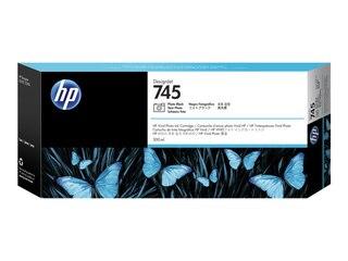 HP Inc 745 - Photo schwarz - Original - DesignJet - Tintenpatrone (F9K04A) -