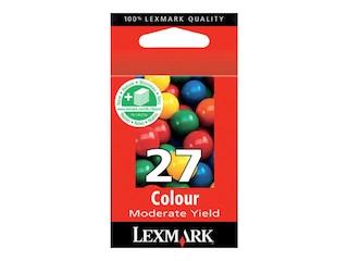 Lexmark Cartridge No. 27 - Farbe (Cyan, Magenta, Gelb) - Original  - Tintenpatrone (10NX227B) -
