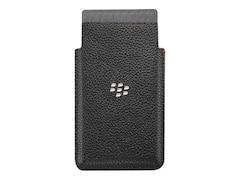 BlackBerry Handytasche Ledertasche für Leap, Schwarz