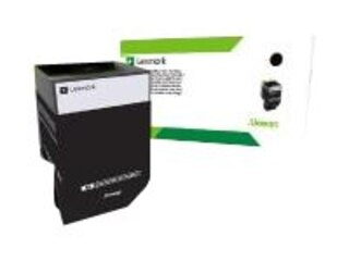 Lexmark 802KE - Schwarz - Original - Tonerpatrone LCCP, LRP - für CX310dn, CX310n, CX410de, CX410dte, CX410e, CX510de, CX510dhe, CX510dthe (80C20KE) -