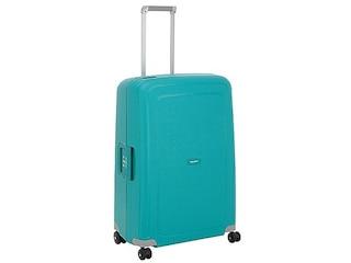 Samsonite S Cure Spinner 4-Rollen-Hartschalentrolley 75 cm - aqua blue -