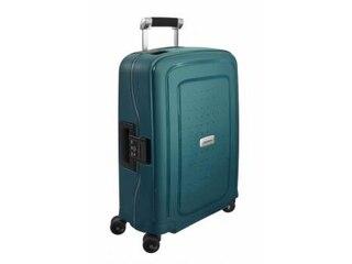 Samsonite S Cure DLX 4-Rollen-Trolley 55 cm - metallic green -