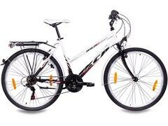 KCP Citybike (Damen) »WILD CAT Lady, 66,04 cm (26 Zoll)« weiß