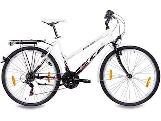 KCP Citybike (Damen) »WILD CAT Lady, 66,04 cm (26 Zoll)« weiß -