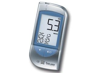 Beurer GL 34 Blutzuckermessgerät 462.01 -