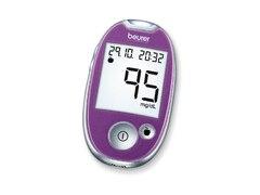 Beurer GL 44 mg/dl Blutzuckermessgerät, Purple