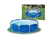 Intex Aufstellpool Frame Pool Set Rondo, TÜV/GS, Blau, Ø 366 x 76 cm