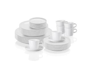 Arzberg Porzellan Cucina Basic weiß Kombi-Set 30 tlg. -