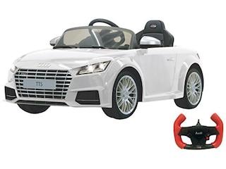 Jamara 405039 - Ride-on Audi TTS Roadster, Elektrofahrzeug, 2.4 GHz, weiß -