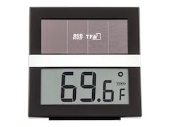TFA Dostmann Eco Solar' Digitales Solar Thermo-Hygrometer