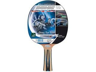 Donic-Schildkröt Tischtennisschläger Top Teams 700 mit AVS Technologie und Ergo Griff, Holz/Natur, One Size -