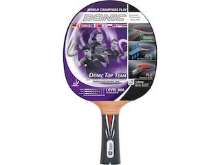 Donic-Schildkröt Tischtennisschläger Top Teams 800 mit AVS Technologie und PLS Eego Griff, Holz/Natur, One Size -