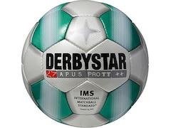 Derbystar Fußball Apus Pro TT, Weiß/Grün, 5, 1716500141