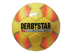 Derbystar Futsal Soft Pro, Gelb/Orange, 4, 1085400570