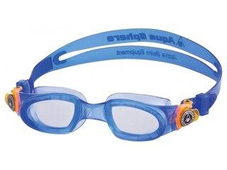 Aqua Sphere Schwimmbrille Moby Kid (Größe: uni, 002 blau) -