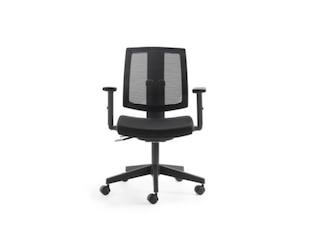 Mayer Sitzmöbel Bürostuhl Lady Like mit Armlehnen schwarz -