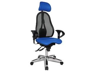 Topstar ST99UL56X Sitness 45, und Kopfstütze, blau -