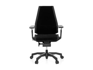 "HJH Office 652850 Bürostuhl ""Genidia Black"" The Future Of Seating, Stoff, schwarz -"