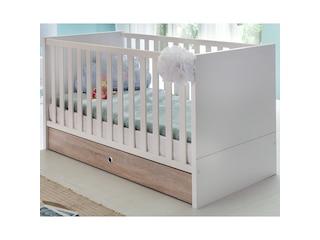 Sonstige Babybett Billund 70 x 140 cm, weiß -