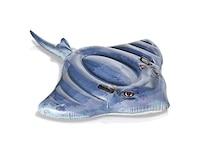Intex Luftmatratze Rochen Stingray Ride-On blau