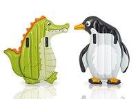 Intex Kinder Luftmatratze Pinguin 114 cm 2 Griffe