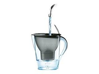 Brita Wasserfilter Marella Cool, Gefiltertes Wasser: 1,4 l, Gesamt: 2,4 l, blau -