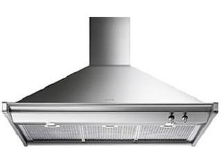 Smeg Dekorkaminwandhaube 100 cm Trapez Classisi Design 4 Leistungsstufen Edelstahl -
