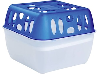 Pingi Profi-Dry Granulat-Luftentfeuchter 12 m² Blau-Weiß -